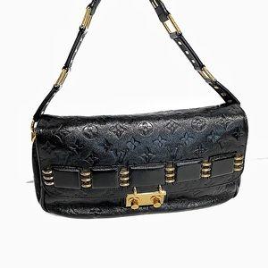 Louis Vuitton Black Leather My Deer Rebelle
